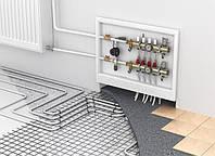 Водяні теплі підлоги: мати, труба, колектори, пластифікатор, фольга , демпферна стрічка