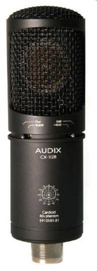 Конденсаторний мікрофон з великою діафрагмою для запису AUDIX CX-112B