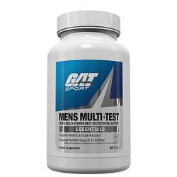 Витамины для мужчин GAT MENS MULTI+TEST 60 TAB