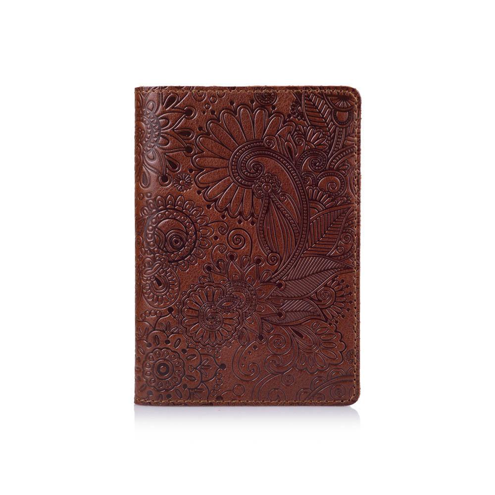 """Обложка для паспорта  Crystal Сognac """"Mehendi Art"""""""