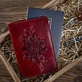 """Обложка для паспорта Crystal Red  """"Mehendi Classic"""", фото 5"""