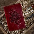 """Обложка для паспорта Crystal Red  """"Mehendi Classic"""", фото 6"""