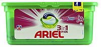 Капсулы для стирки Ariel 3in1 PODS Touch of Lenor Fresh 28 шт., фото 1