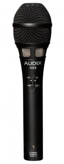 Конденсаторный микрофон для вокала и акустических инструментов AUDIX VX5