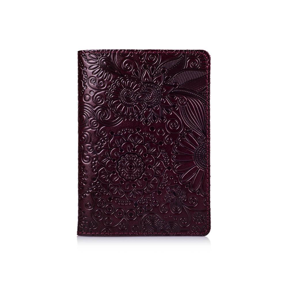 """Обложка для паспорта Crystal Sangria """"Mehendi Art"""""""