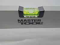 Уровень алюминиевый усиленный Mastertool 400мм
