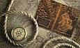 """Обложка для паспорта кожаная с художественным тиснением """"Открытия"""". Цвет рыжий, фото 6"""