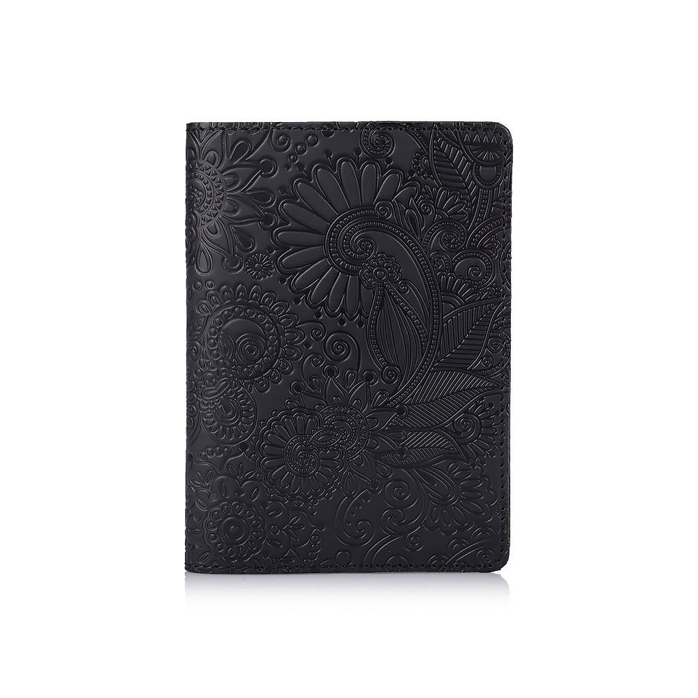 "Обложка для паспорта Shabby Night ""Mehendi Art"""