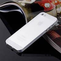 Пластиковый чехол для iPhone 5 5s 0.3мм белый