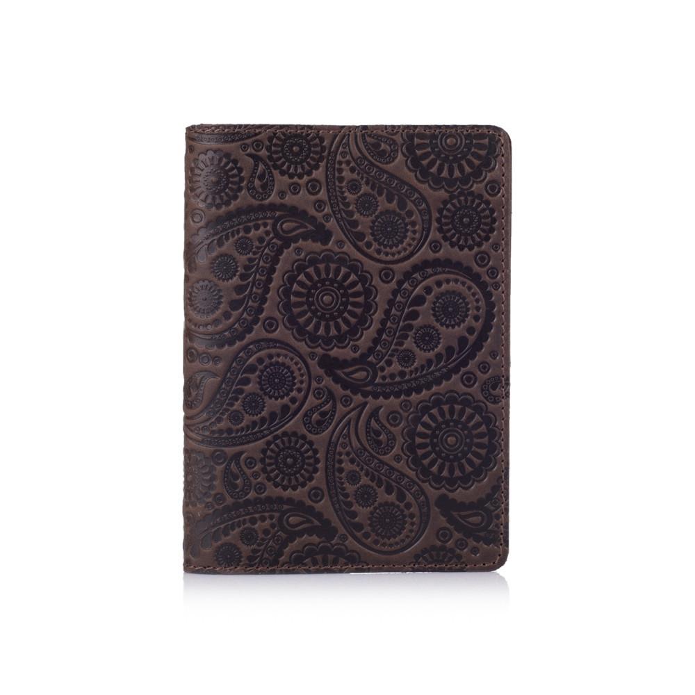 "Обложка для паспорта Shabby Gavana Brown ""Buta Art"""