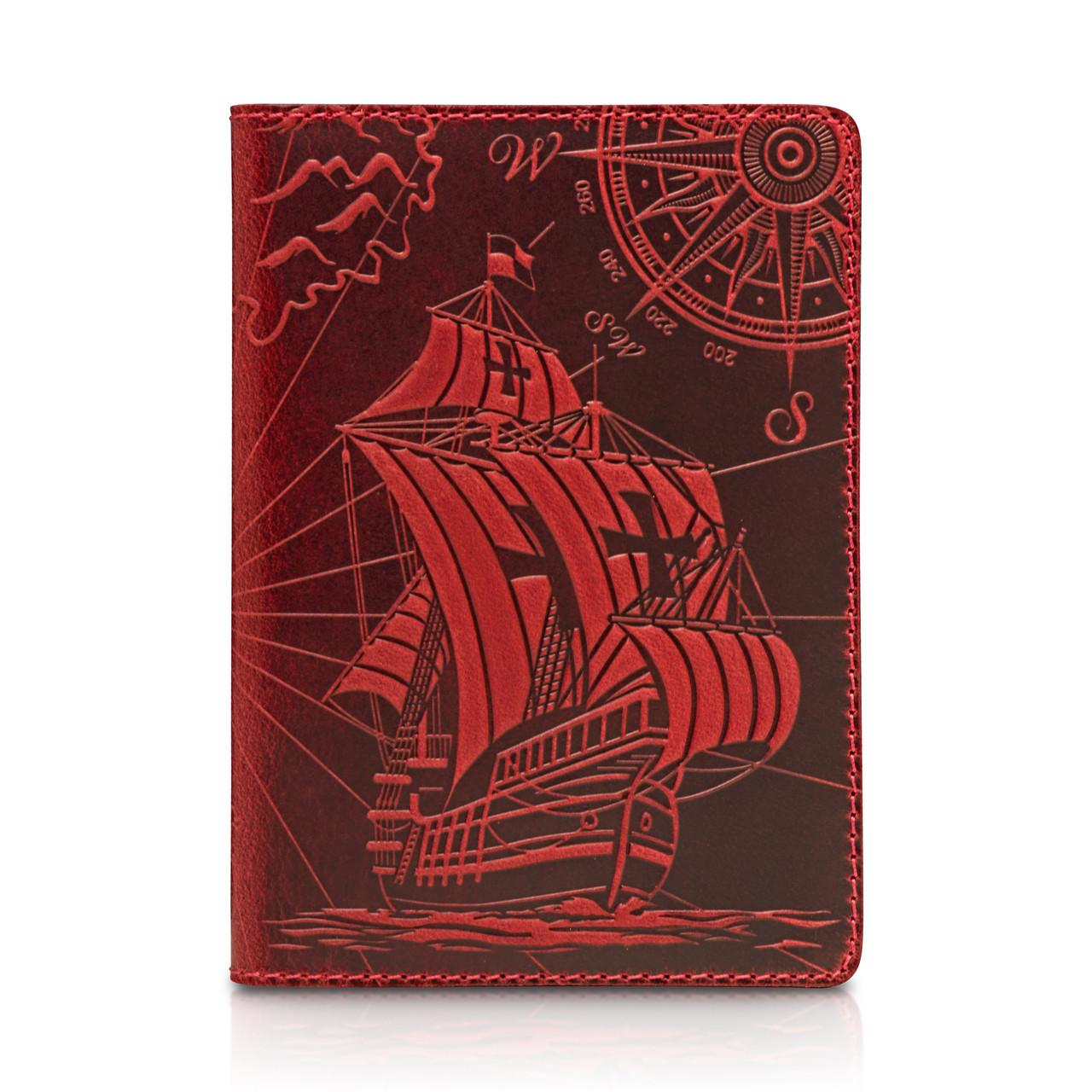 "Обложка для паспорта Shabby Red Berry ""Discoveries"""