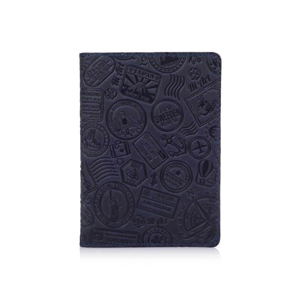 "Обложка для паспорта Shabby Ink ""Let's Go Travel"""