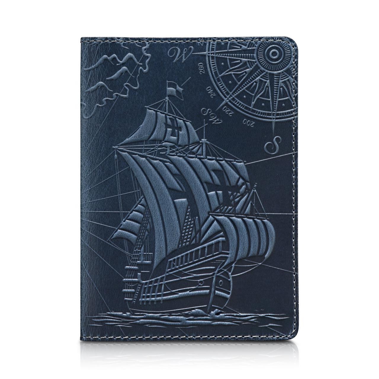 "Обложка для паспорта Shabby Lagoon ""Discoveries"""