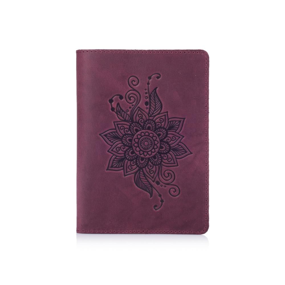 "Обложка для паспорта Shabby Plum ""Mehendi Classic"""