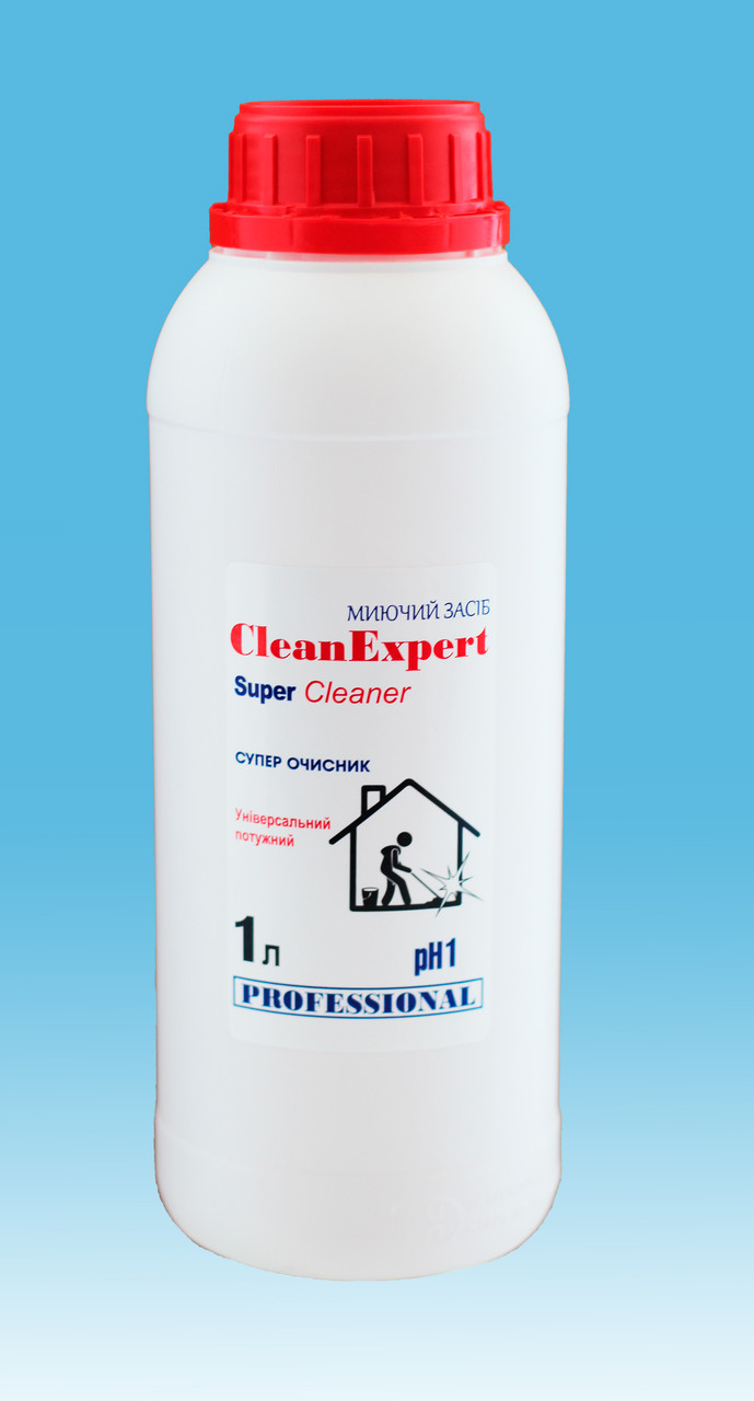 Миючий засіб для туалету - Super Cleaner 1 л