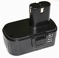Аккумулятор для шуруповерта 18 В плоский