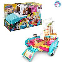 Набор Барби раскладной фургон для щенков DLY33