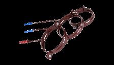 Хомут крепления трубы металлический со шпилькой d.100  Profil 130