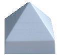 "Крышка для столба ""Пирамида"""