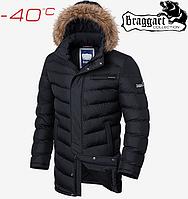 Куртки на меху Braggart Aggressive - 4756#4755 черный, фото 1