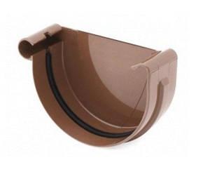 Заглушка желоба правая/левая Bryza 125 коричневый, белый, графит, кирпичный