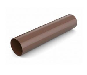 Водосточная труба d.90-3м Bryza 125 коричневый, белый, графит, кирпичный