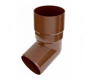 Колено трубы 67° d.90 Bryza 125 коричневый, белый, графит, кирпичный