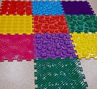 Ортопедический коврик пазл Орто пазл для детей и взрослых набор Массажный  из 10 пазлов