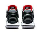 """Баскетбольные кроссовки Air Jordan 32 MVP Award """"Black Cement"""" (Найк Аир Джордан 32) серые/черные, фото 5"""