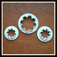 Набор катеров Цветочек 8 лепестков (3 шт), фото 1