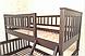 Двухъярусная трехспальная кровать Рита из дерева, Орион, фото 9