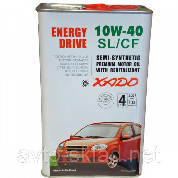 Масло ХАДО Atomic OIL 10W40 4л SL/CF Energy Drive