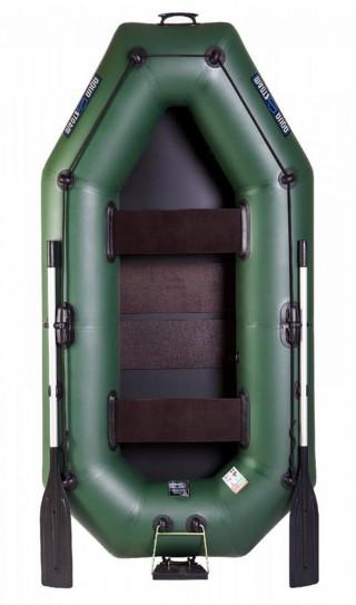 Aqua Storm st250cDt - лодка надувная Шторм 249 с навесным транцем и ковриком