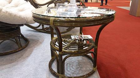 Столик журнальный из ротанга 0511  Евродом, цвет на выбор, фото 2