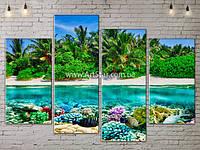 Модульные Картины, Морской пейзаж, Art. SEAA777093