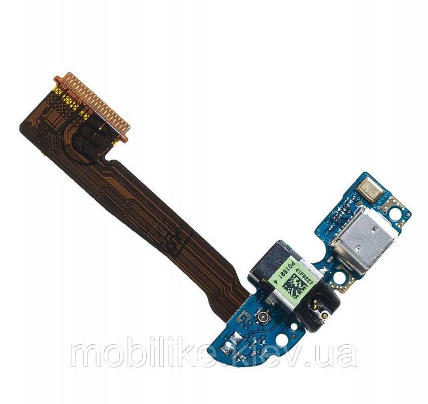 Шлейф роз'єму зарядки HTC One M8