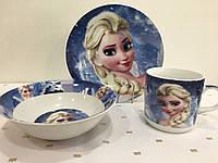 Набор детской посуды Disney Frozen 3 пр