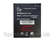 Аккумулятор на Fly BL3808 (iQ456 Era Life 2), 2000 mAh