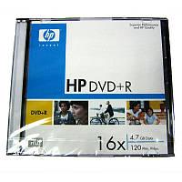 Диск HP  4.7Gb  -16x  slim box  DVD+R