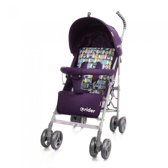*Коляска - трость прогулочная детская TM BabyCare Rider Purple в льне арт. 0002