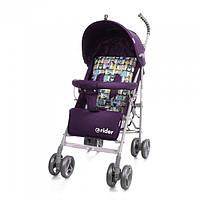 *Коляска - трость прогулочная детская TM BabyCare Rider Purple в льне арт. 0002, фото 1