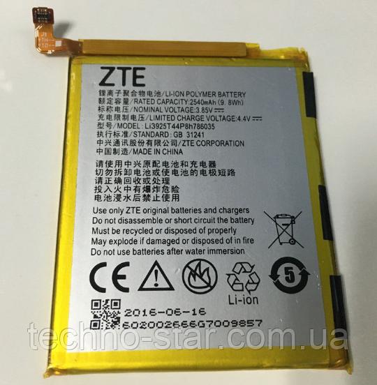Оригинальный аккумулятор Li3925T44P8h786035 для ZTE Blade A910 | BA910 | Blade V7 | Blade S7 | T920 2540mAh