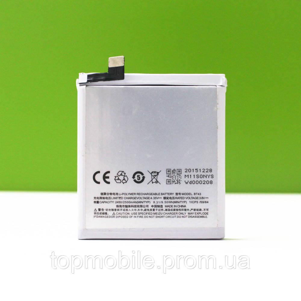 Аккумулятор  Meizu BT43 (M1/M1 Mini), 2450mAh (батарея, АКБ)