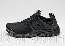 Мужские кроссовки Nike Air Presto All Black Найк Аир Престо черные, фото 3