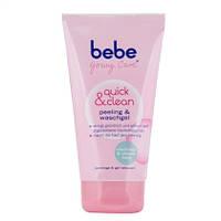 Bebe Young Care Quick & Clean Peeling & Waschgel - Очищающий гель-пилинг для лица