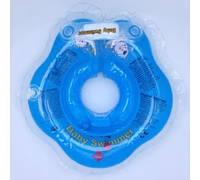 Круг на шею ТМ Baby Swimmer. Вес 3 - 12 кг Голубой