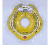 Круг на шею ТМ Baby Swimmer. Вес 3 - 12 кг Желтый
