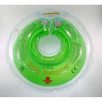 Круг на шею ТМ Baby Swimmer. Вес 6 - 36 кг Салатовый