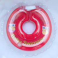 Круг на шею ТМ Baby Swimmer. Вес 6 - 36 кг Красный, фото 1