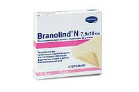 Повязка для лечения пролежней,  ожегов, трофических язв BRANOLIND мазевая стерильная 30 шт, 7,5 х 10 см